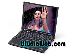 Lenovo X61p Laptop & Monica Belucci
