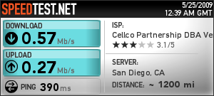 Verizon Wireless Orlando, FL to San Diego, CA