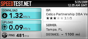Verizon Wireless Orlando, FL to Tampa, FL